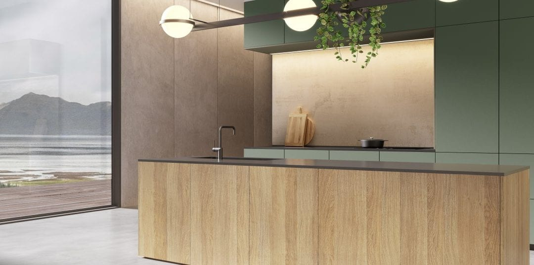 Inspired by nature: the top kitchen trends for 2020